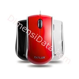 Jual DELUX  DLM-116 BU Mouse