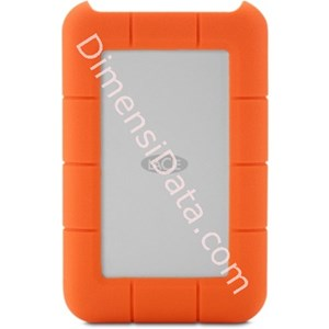 Picture of Hard Drive LACIE Rugged Mini USB 3.0 500 GB [LAC301556]
