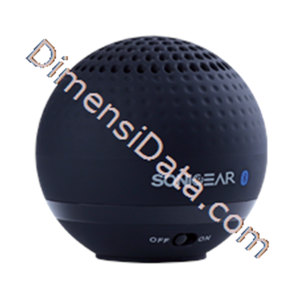 Picture of Speaker Portable  SonicGear Blue Golf