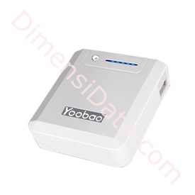 Jual Powerbank YOOBAO MAGIC BOX YB635   6600MAH ( Putih )