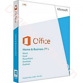 Jual Microsoft Office Home and Business 2013 (64 bit)