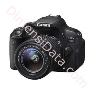 harga Kamera Digital CANON EOS 700D+Lens Kit ( 18-55mm ) Dimensidata.com