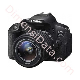Jual Kamera Digital CANON EOS 700D+Lens Kit ( 18-55mm )