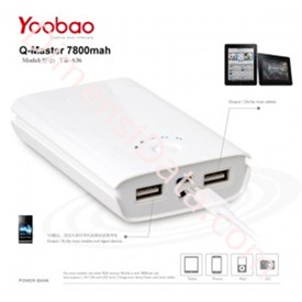 Jual Powerbank Yoobao Q-Master   YB636 7800mah