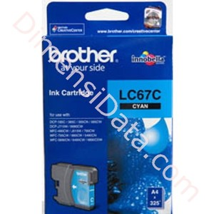Picture of Tinta  Cartridge BROTHER  LC-67C Cyan