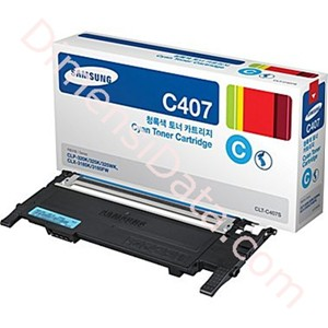 Picture of Tinta / Cartridge SAMSUNG Cyan Toner [CLT-C407S/SEE]