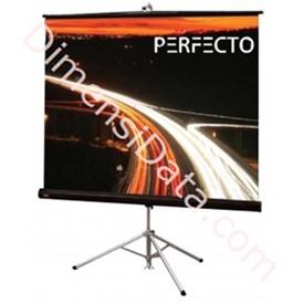 Jual Screen Projector PERFECTO Tripod TSPF 2121