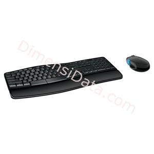 Picture of Keyboard MICROSOFT Sculpt Comfort Desktop USB [L3V-00027]