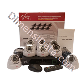 Jual CCTV D.I.Y Vision Pro Paket 123 AN80