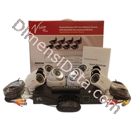 Jual CCTV D.I.Y Vision Pro Paket 123 AN44
