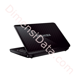 Picture of TOSHIBA Satellite Pro L740-1219U - Precious Black Notebook