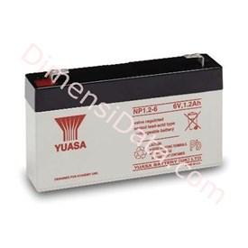 Jual Batery Ups YUASA NP 1.2-6