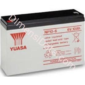 Jual Batery Ups YUASA NP 10-6