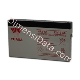 Jual Batery Ups YUASA NP 2-12