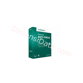 Jual Anti Virus  KASPERSKY 2014 (3-User)