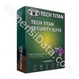 Jual Tech Titan KASPERSKY T-Drive Pro CD Set 2014