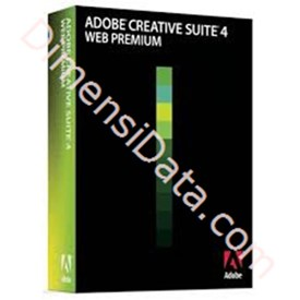 Jual ADOBE WEB PREMIUM CS4 FOR WINDOWS