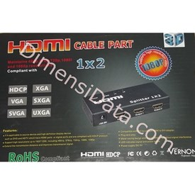 Jual Connector VERNON 1 x 2 HDMI Splitter