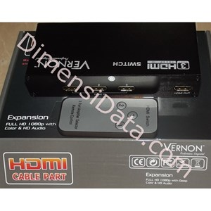 Picture of Connector VERNON 3 x 1 HDMI Switcher