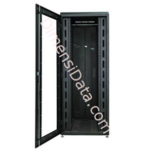 Picture of Rack Server NIRAX NR 11045 Cl 1100mm & 45U