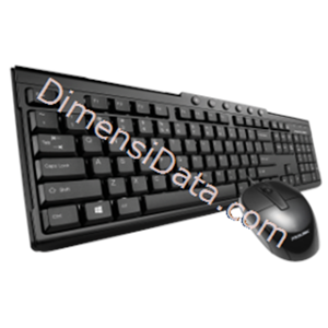Picture of Keyboard PROLINK Multimedia Desktop Combo [PCCM2001]