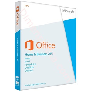 Picture of Microsoft Office Home and Business 2013 (32 bit)