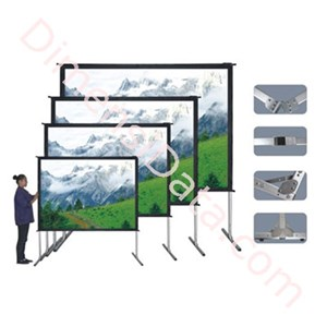 Picture of Screen Projector Brite Fastfold 150  Inch [FAS-3020FR]