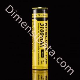 Jual Baterai NITECORE NL188 3100mAh 18650 LI-ION RECHARGEABLE