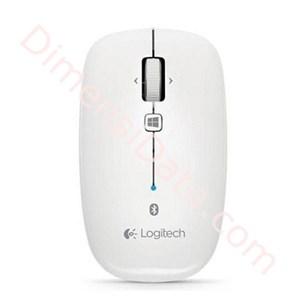 harga Bluetooth Mouse LOGITECH M557  - Pearl White Dimensidata.com