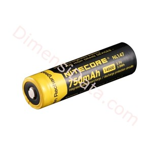 Picture of Baterai NITECORE NL147 750mAh 14500 LI-ION RECHARGEABLE