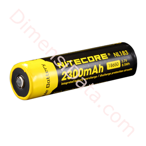 Picture of Baterai NITECORE NL183 2300mAh 18650 LI-ION RECHARGEABLE