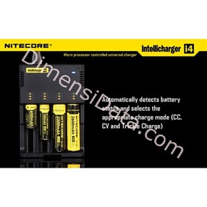 Picture of Baterai Nitecore Digicharger 4 Slot I4 Universal Battery Charger