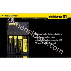 Jual Baterai Nitecore Digicharger 4 Slot I4 Universal Battery Charger