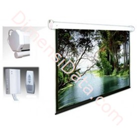 Jual Screen Projector ALPHA Motorized & Remote 70  Inch