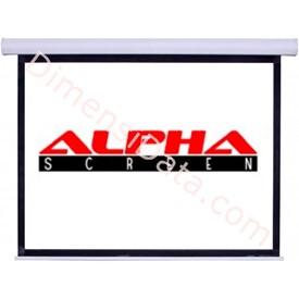 Jual Screen Projector ALPHA Manual 84 Inch