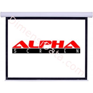 Picture of Screen Projector ALPHA Manual 84 Inch