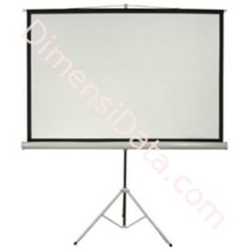 Jual Screen Projector ALPHA Tripod 70  Inch