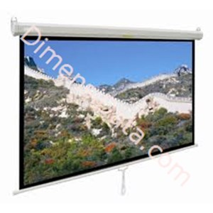 Picture of Screen Projector Manual D-Light 100  Inch Diagonal [MWSDL1520L]