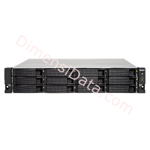 Picture of Storage Server NAS QNAP TS-1263U-RP-4G