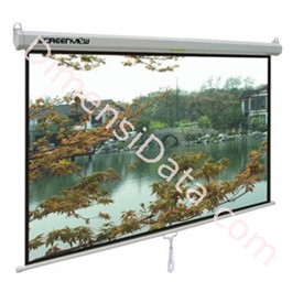 Jual Screen Projector Manual SCREENVIEW 150  Inch Diagonal