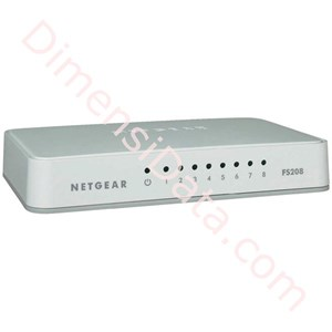 Picture of Switch Netgear FS208