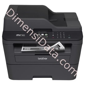 Jual Printer Brother MFC-L2740DW (2.7  Inch Touch Screen Coour LCD)