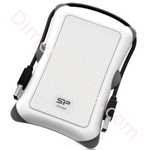 Picture of Harddisk Eksternal Portable Silicon Power A30 PHD 2TB - White