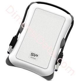 Jual Harddisk Eksternal Portable Silicon Power A30 PHD 2TB - White
