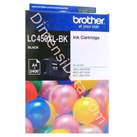 Jual Tinta / Cartridge BROTHER LC-450XLBK