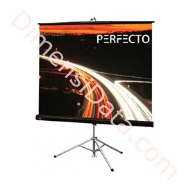Jual Screen Projector PERFECTO Tripod TSPF 1217L Diagonal