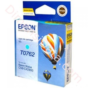 Picture of Cartridge EPSON Cyan Ink [T0762]