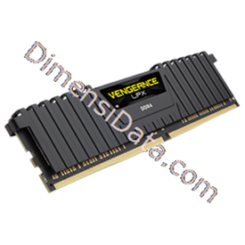 Jual Memory Desktop CORSAIR Vengeance LPX 16GB (4x4GB) DDR4 DRAM (CMK16GX4M4A2666C16)
