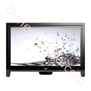 """Picture of Monitor AOC 19.5"""" E2060VWT Touch Screen"""