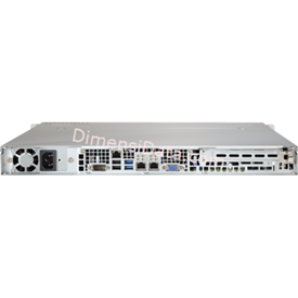 Jual Server Supermicro SuperServer 5018R-M (E5-1600V3)